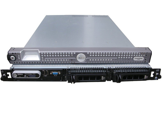 Servidor Dell Poweredge 1950 Quadcore 2.33ghz 4gb Ram 150hd