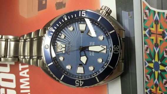 Relógio Zodiac - Oceanaire - Diver - Swiss Made - 45mm -