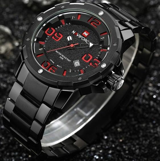 Relógio De Pulso Naviforce Nf9078m + Frete Grátis