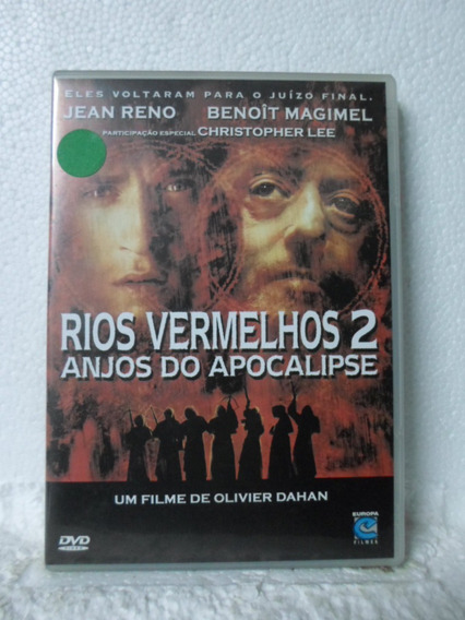 Dvd Rios Vermelhos 2 - Anjos Do Apocalipse - Frete: 8,00