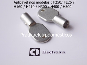2 Chaves Do Freezer Electrolux H200 H210 H300 H400 H500