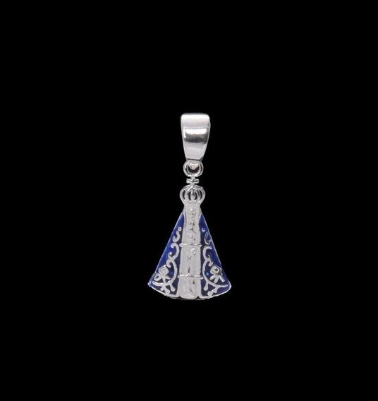 Pingente De Prata 925 Nossa Senhora Aparecida - Viagold
