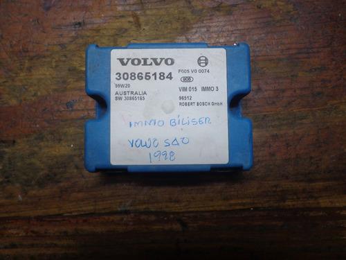 Vendo Immobiliser De Volvo S40,año 1998, # 30865184