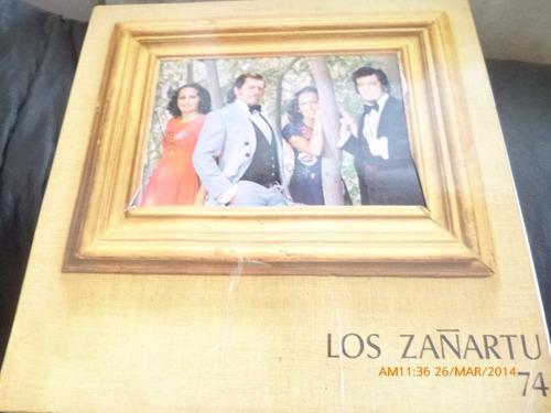 Vinilo Lp De Los Zañartu 74 (u768