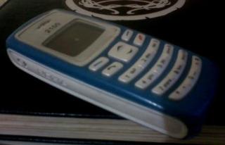 Nokia 2100 (azul) Desbloqueado Raridade Tc Alta Iluminaçao