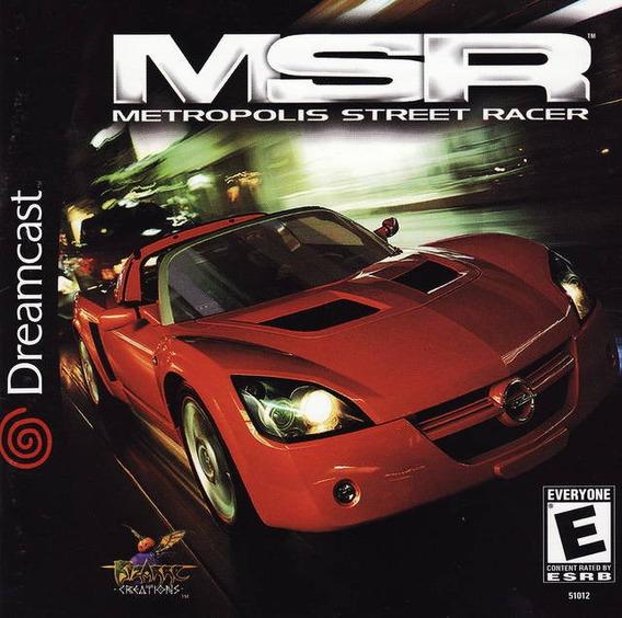 Metropolis Street Racer Patch - Dreamcast E Pc