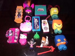 Muñecos Del Mac Donald Monster High - Hello Kitty - Toonix