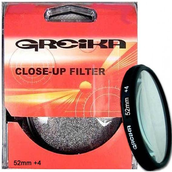 Filtro Close Up 52mm +4 - Greika