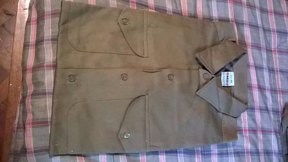 Camisa Trabajo Verde