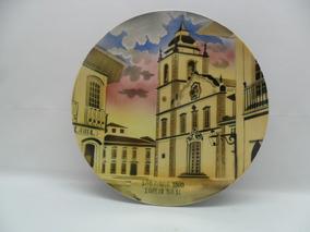 Prato De Porcelana Cze Igreja Base De São Paulo 1860.
