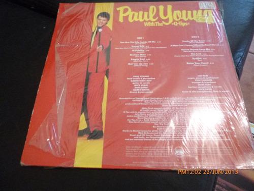 Vinilo Lp  Paul Young Whitthe Q Tips  Come Black Live (u447