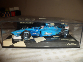 Minichamps 1/43 Benetton Renault J.button Novo
