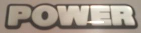 Emblema Adesivo Resinado Power Gol Parati Saveiro Fox