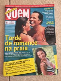 Revista Quem Malu Mader Paula Fernandes Fafá De Belém N°542