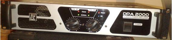Potencia Staner Dpa-2000 Class D Amplifier Digi Power