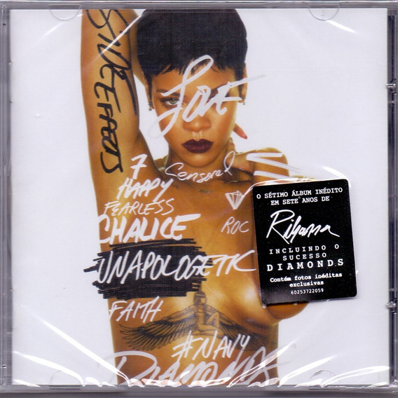Cd Rihanna - Unapoligetic - Novo***