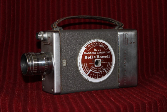 Camara De Video Bell & Howell 200 Magazine 16 Mm