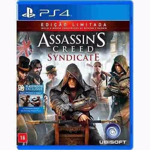 Assassins Creed Syndicate Ps4 Física Ed Limitada Fretegrátis