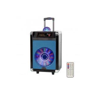 Portátil Bluetooth Dj Altavoz De 12 - Azul