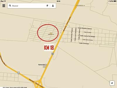 Vendo Terreno Nuevo Laredo Tamps Km 18 Carretera Laredo Mty
