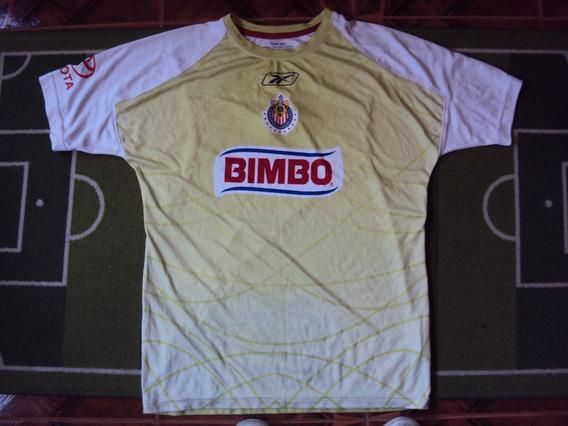 Camiseta Chivas México Reebok Arquero 2008 2009 Selección M