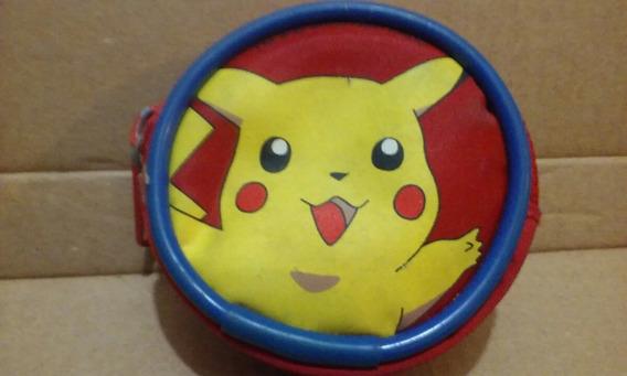 Monedero Pokemon Pikachu Pokebola Nintendo 2000
