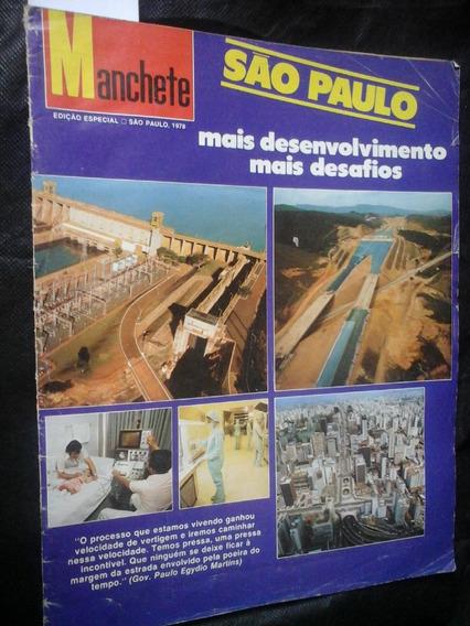 Manchete Especial 1978 São Paulo Desafios Desenvolvimento