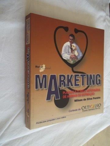 * Livro Marketing Clinica Veterinaria Milson Silva Pereira