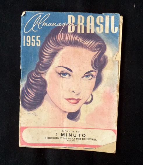 Almanaque Brasil 1955 Antigo