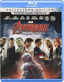 Blu-ray 3d : Marvel