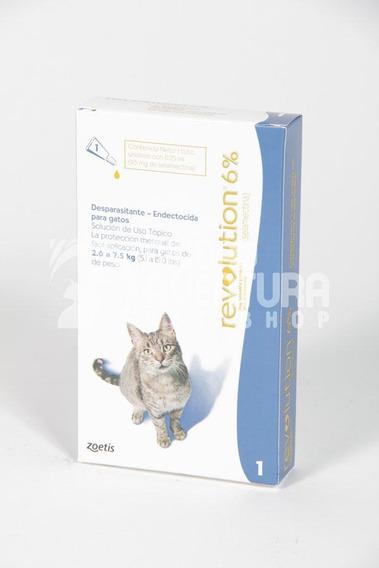 Pipeta Revolution Para Gatos Hasta 7,5 Kg