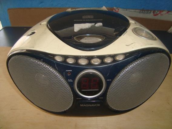 Radio Cd Player Magnavox Mcs235/78 - Sucata N Liga
