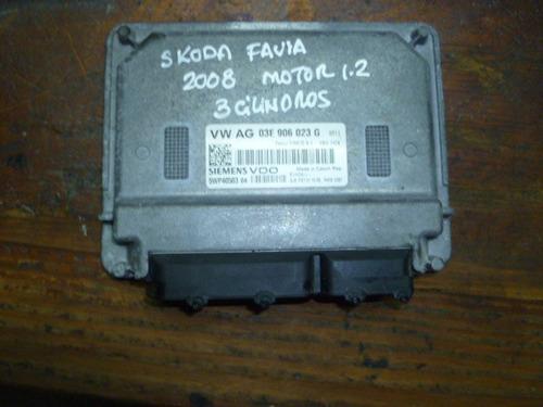 Imagen 1 de 4 de Vendo Computadora  Skoda Favia, 2008, # Vw Ag 03e 906 023 G