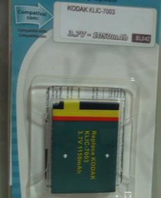 Bateria Kodak Klic-7003 Da Marca Trev