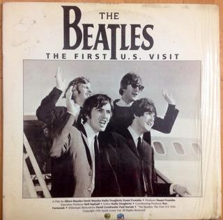 Laserdisc The Beatles The First U.s. Visit Coleccionistas