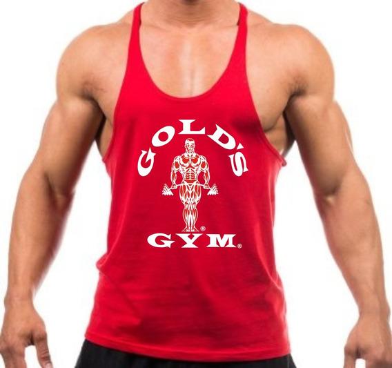 Regata Cavada Para Treino De Musculação Gold