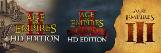 Age Of Empires 2 Hd + Forgotten + Age Of Empire 3 Completo