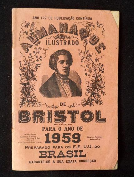 Bristol 1959 Almanaque Ilustrado Antigo