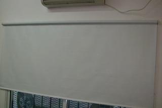 Cortinas Roller Blackout Blanco Premium 100% Bloqueo