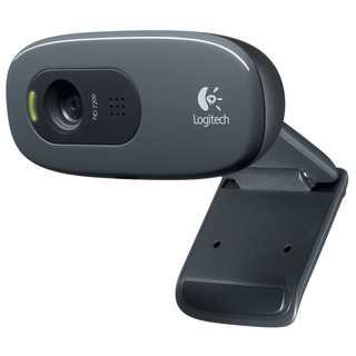 Webcam Logitech C270 720p Hd Mic Usb 3mpx Pc Notebook
