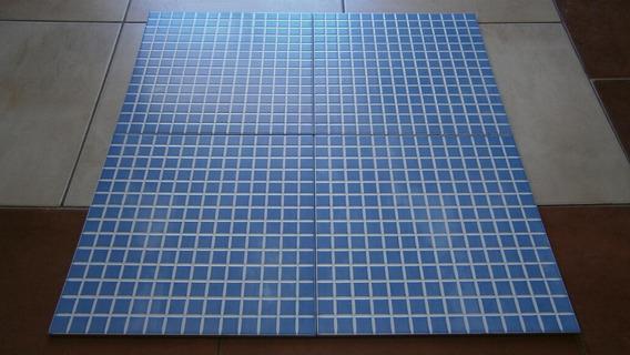Ceramica Venecita Para Pileta Piscina 33 X 33 Aqua Blue X M²