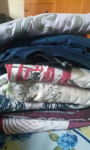 Lote De Camisetas Masculina Tam M