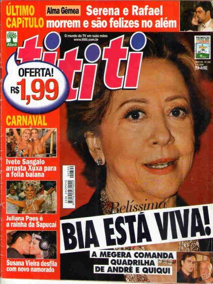 Cl Tititi 390 * Montenegro * Juliana Paes