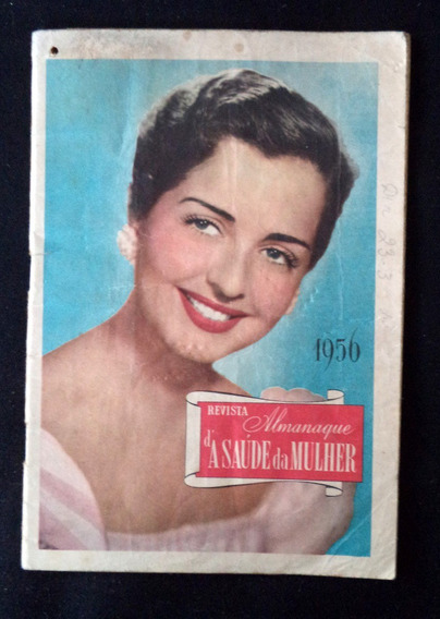 Almanaque Da Saúde E Da Beleza 1956 Livreto Antigo