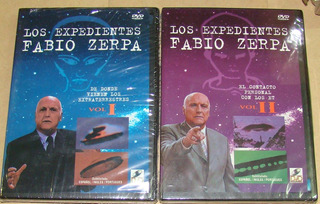 Los Expedientes Fabio Zerpa Vol 1 Y 2, 2 Dvd Nuevos / Kktus