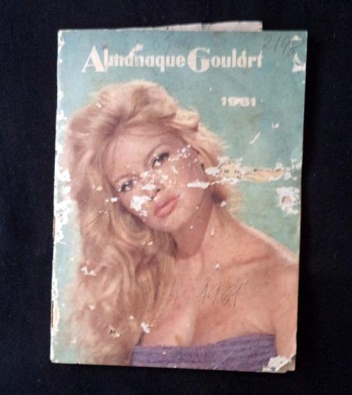 Almanaque Goulart 1961 Antigo