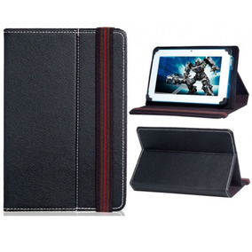 Capa Universal Couro Tablet 7 Coby Foston Genesis Orange Bak