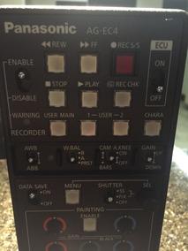 Controle De Câmera Panasonic Ag -ec4