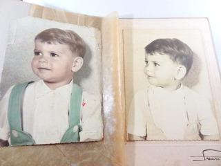 Antiga Fotografia Poster Em Album Anos 50!!! Boneca Estrela