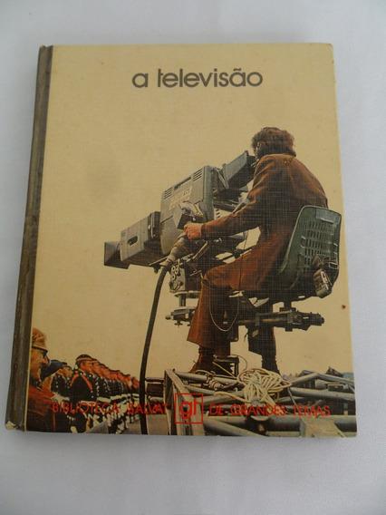 Livro A Televisão Grandes Temas Biblioteca Salvat Ano 1979